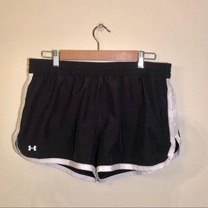 Under Armour shorts- black, like new, large
